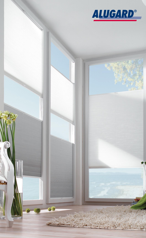 plissee alugard my blog. Black Bedroom Furniture Sets. Home Design Ideas